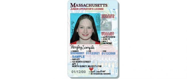 new drivers license ma rules