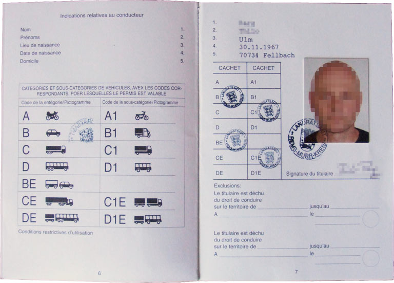 Driving Permit - Thilo Parg