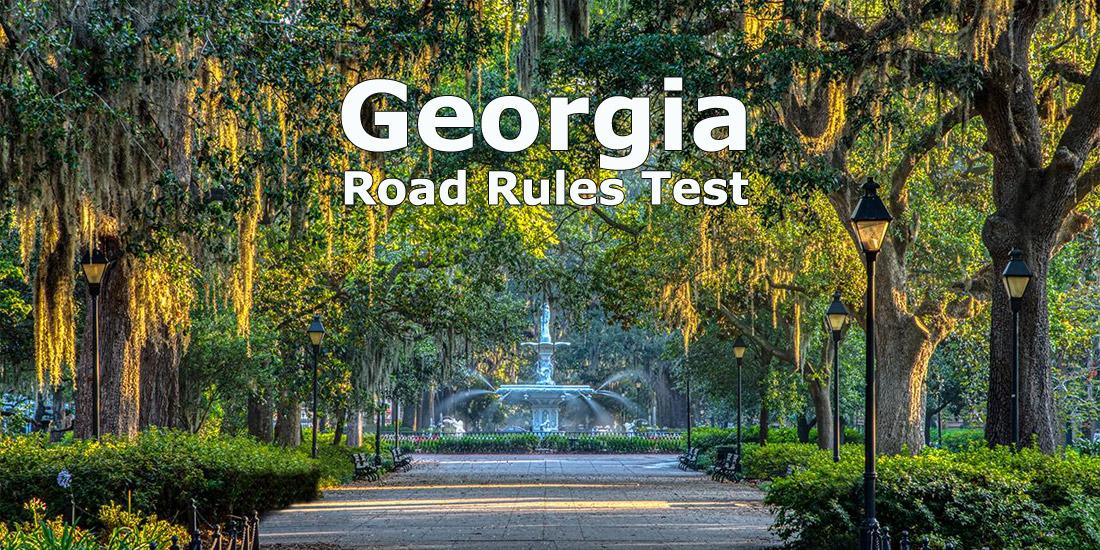 Georgia Road Rules Test