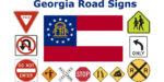 Georgia Road Sign Recognition Test - courtesy of driversprep.com