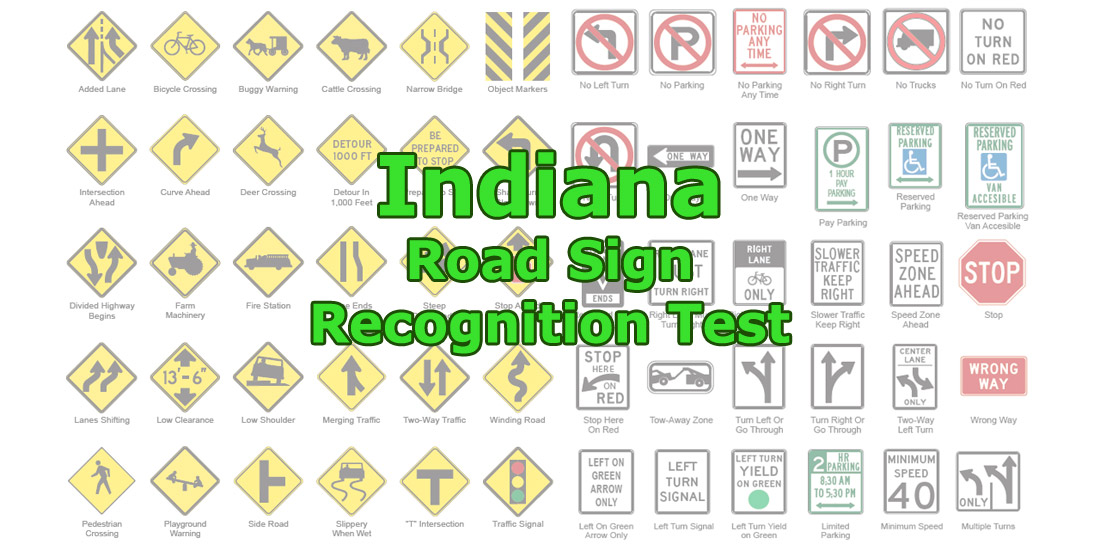 Indiana Road Sign Recognition Test