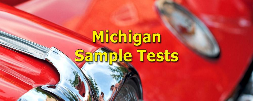 Michigan Sample Tests - Photo by Steve Raubenstine
