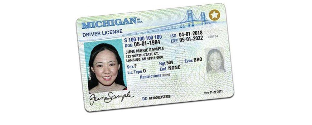 Michigan driver license