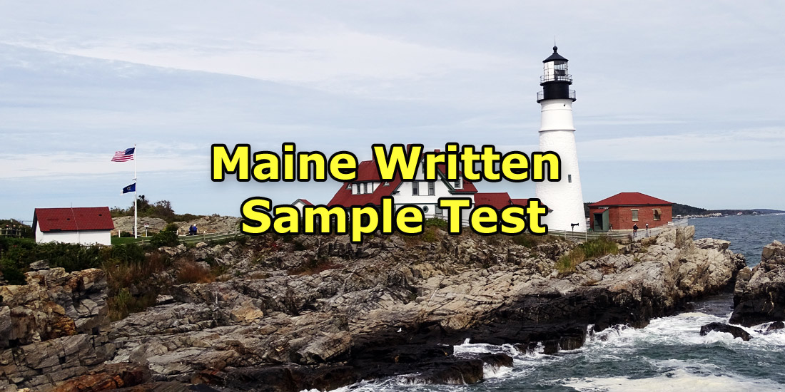 Maine Written Sample Test