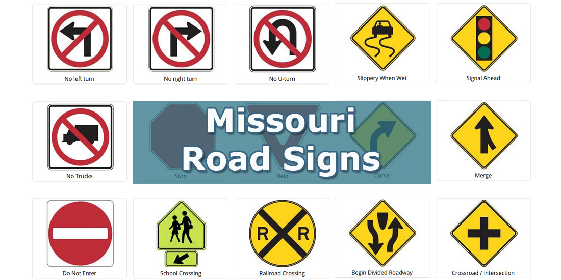 Missouri road signs test