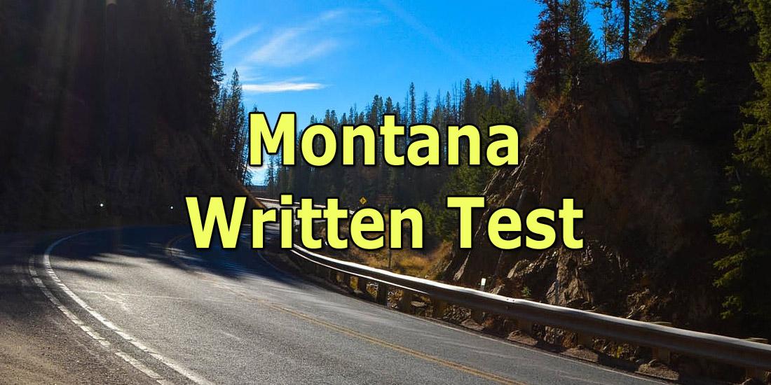 Montana Written Test
