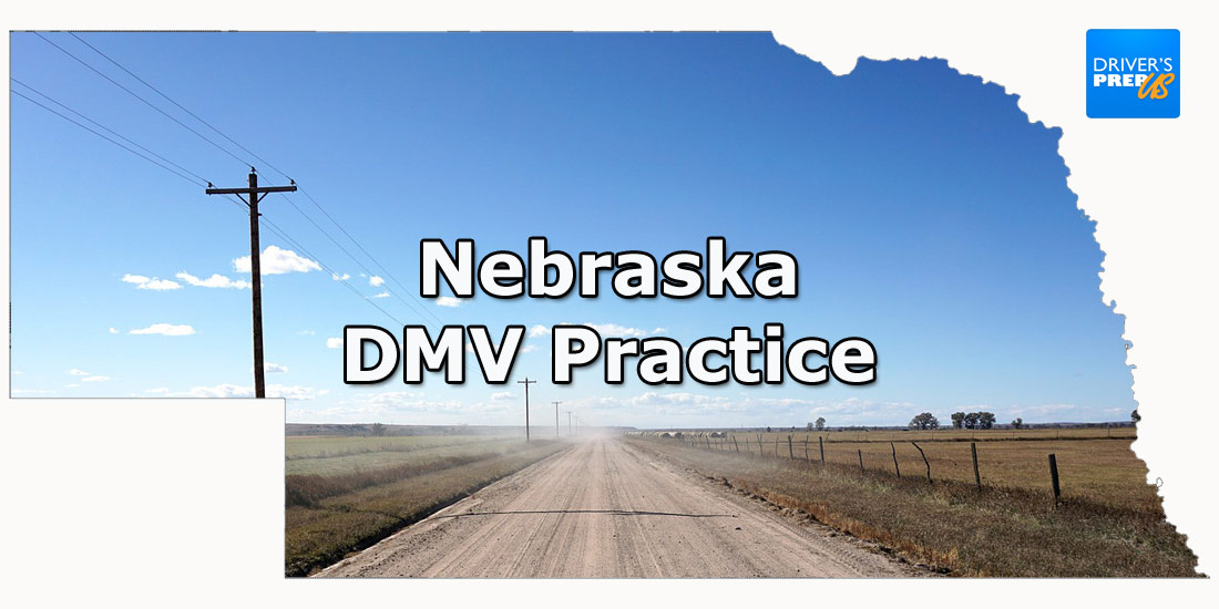 Nebraska DMV Practice - Written Test - RJA1988