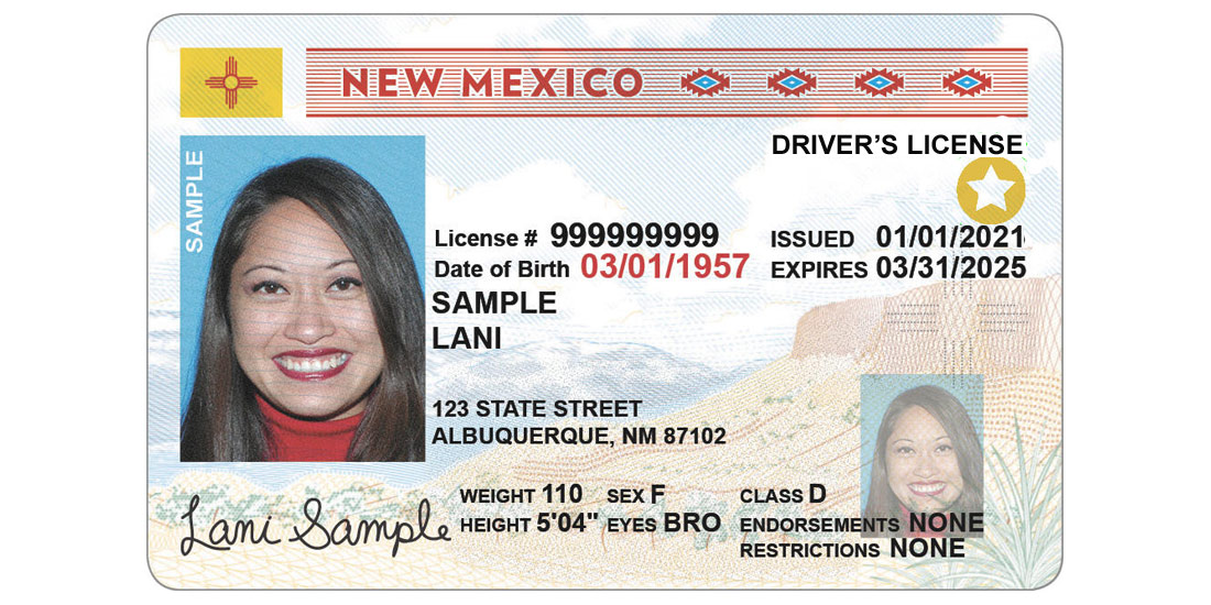 New Mexico Driver License