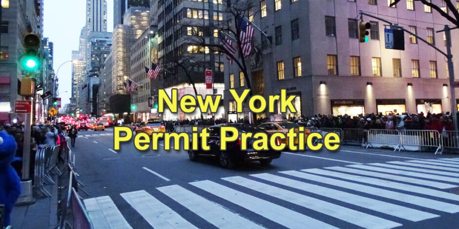 New York Permit Practice Test