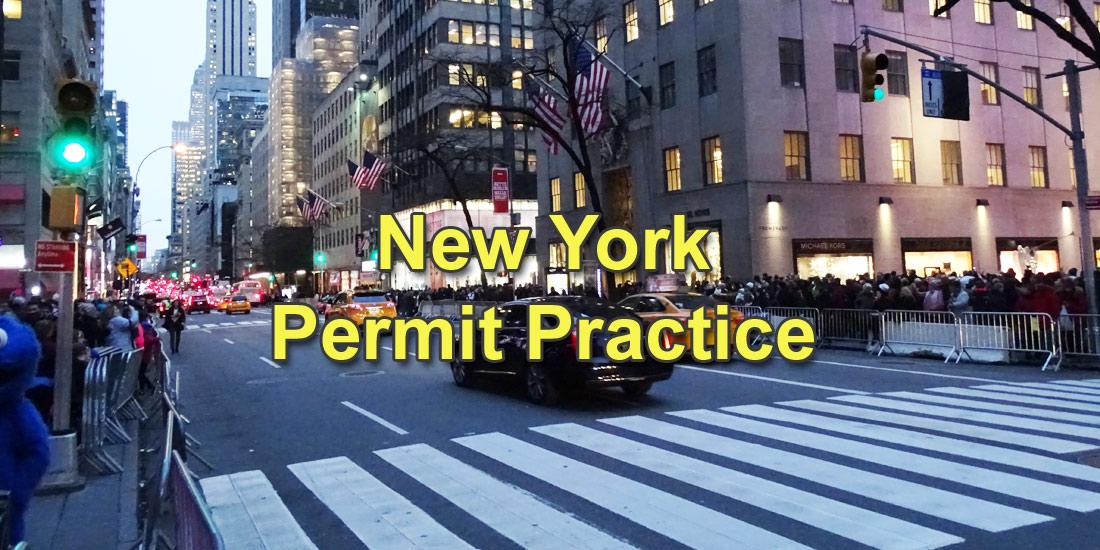 New York Permit Practice Test