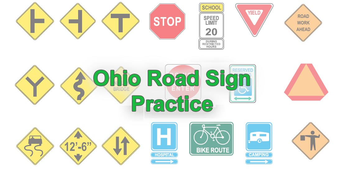 Ohio Road Sign Practice