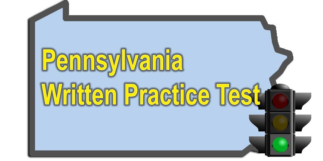 Pennsylvania PA Written Test Practice