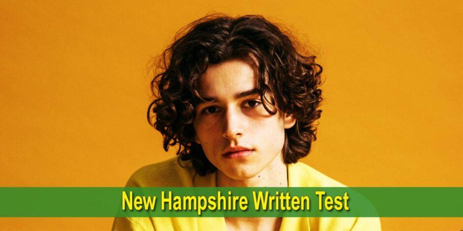 New Hampshire Written Test - Photo by KoolShooters