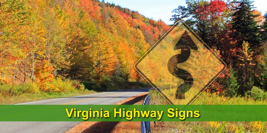 Virginia highway signs