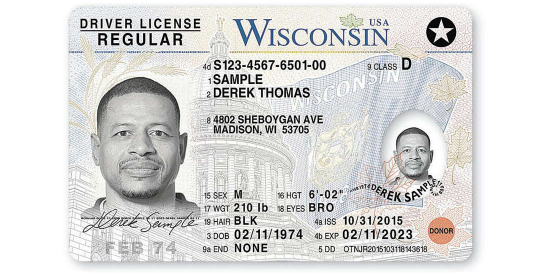 Wisconsin Driver License