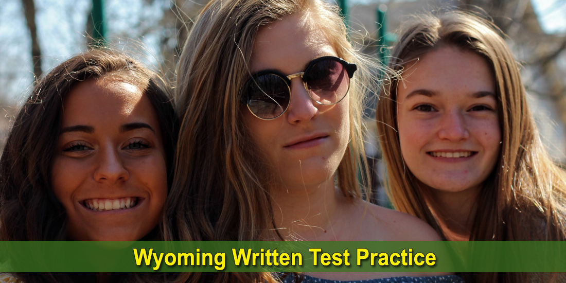 Wyoming Written Test Practice - Photo by Grace Earley