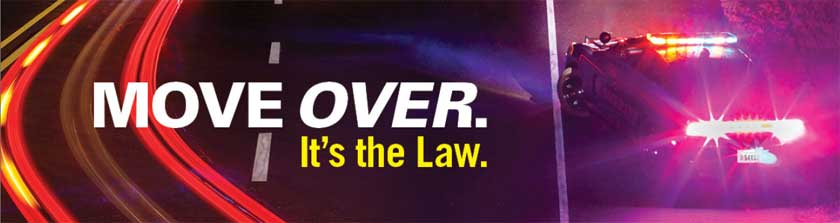 Move Over banner – NHTSA