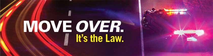 Move Over banner - NHTSA