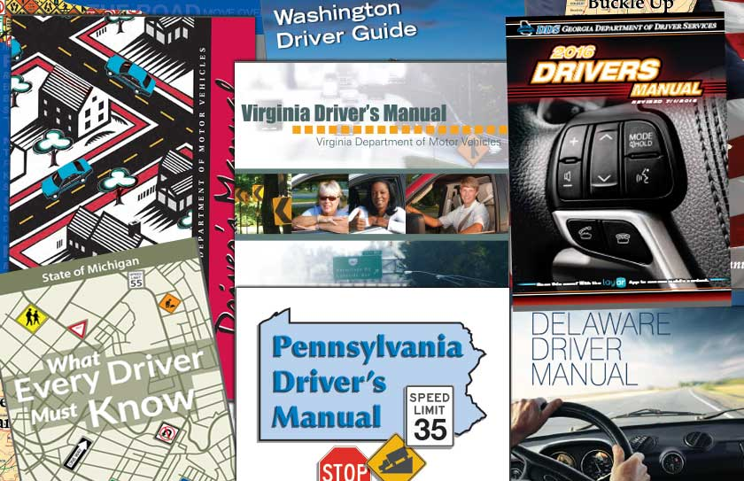 virginia drivers test practice book